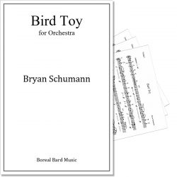 Bird Toy for Orchestra - Sheet Music Product Image