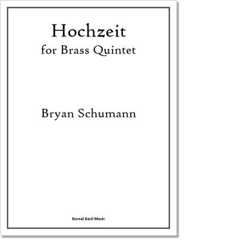 Hochzeit for Brass Quintet - Sheet Music Product Image