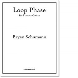 Loop Phase for Electric Guitar - Sheet Music Product Image