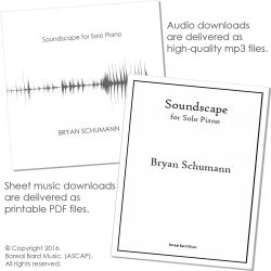 Soundscape for Solo Piano - Grouped - Product Image