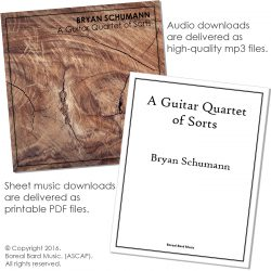 A Guitar Quartet of Sorts - Grouped Product Image