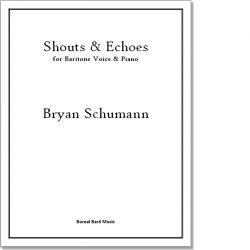 Shouts & Echoes - Sheet Music Product Image