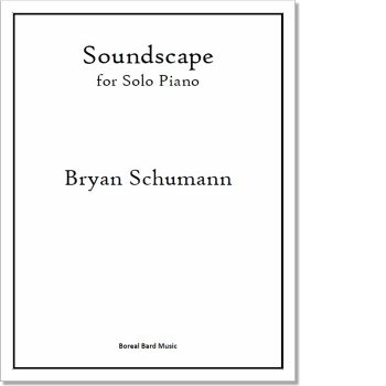 Soundscape for Solo Piano - Sheet Music Product Image