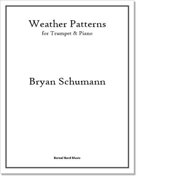 Weather Patterns - Sheet Music Product Image
