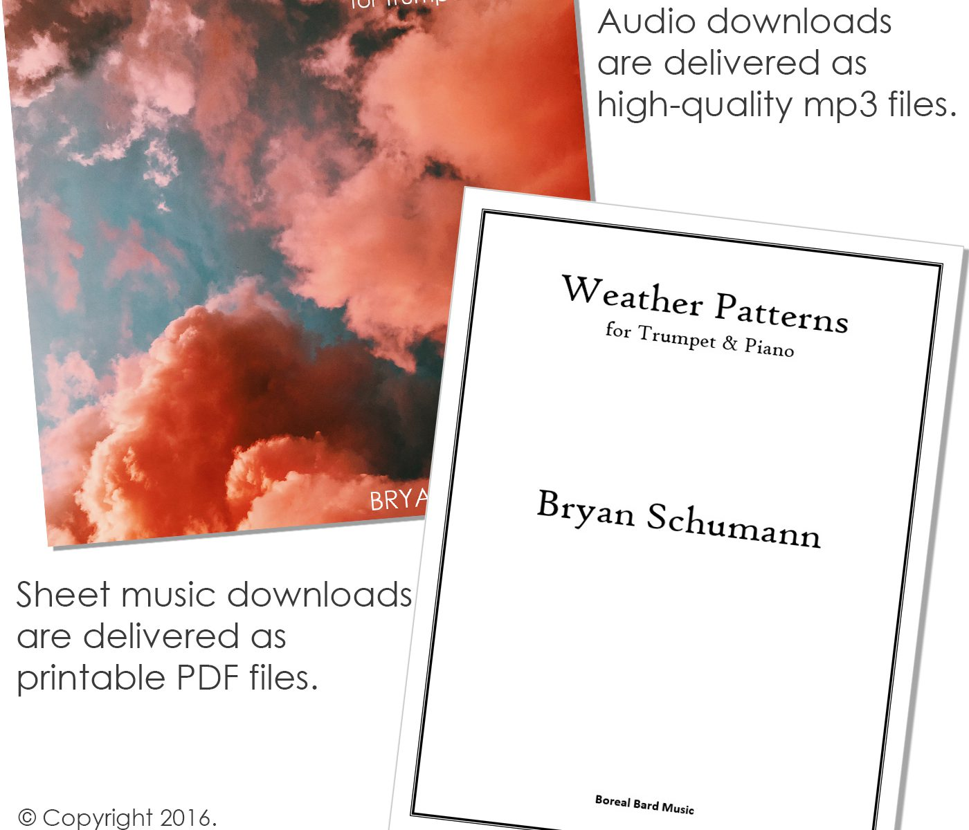 Weather Patterns for Trumpet & Piano - Grouped Product Image