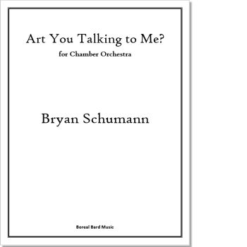 Art You Talking to Me - Sheet Music Product Image