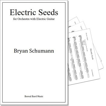 Electric Seeds - Sheet Music Product Image