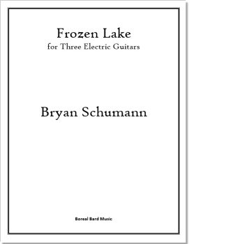 Frozen Lake - Sheet Music Product Image