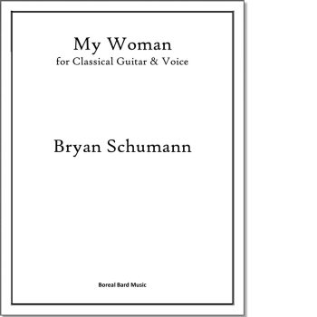 My Woman - Sheet Music Product Image